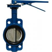 Buy cheap Wafer type API609 Butterfly Valve 2014W JIS 10K Lever operator / Gear operator from wholesalers