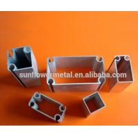 China Aircraft aluminum extrusions in China, High grade silver anodized 6061 T6 aluminium profiles for tent poles wholesale