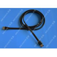 China SATA 3.0 Slim Flexible External SATA Cable , PC Powered ESATA Cable wholesale