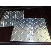 China High Tensile Embossed Aluminum Sheet Aluminium Checker Plate wholesale