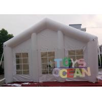 Quality 20x10x6m Inflatable Tents , White Decorative Inflatable Marquee Tent For Event for sale