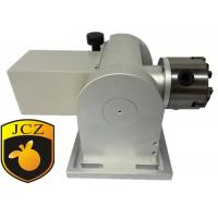 80mm Tilt Angle Rotary Axis For Laser Engraving Machine , Gear 8 : 1
