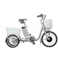 Buy cheap Smart charger 3 wheeled electric bike 40 - 45km range pedal assist electric bike from wholesalers