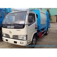 China 3cbm--5cbm Small Compactor Garbage Trucks Dongfeng Chassis 4x2 on sale