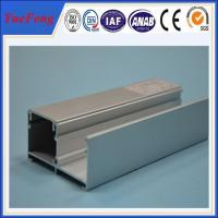 China aluminium window fitting frame extrusion, aluminum frame for windows and doors on sale