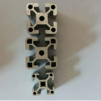 China Clear / Silver Extrusion Industrial 6005 Aluminum Profile , Alum Extrusion Profile For Windpipes wholesale