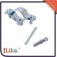 China Cast Iron Horizontal / Vertical Pipe Support Clamps For Ceilings Floor Mounting wholesale