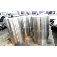 Quality S355NL Hot Rolled Forged Bar Forged Sleeves Pipe With PED Certificate Machined for sale