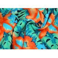 China Anti Static Plain Woven Fabric / Patterned Polyester Fabric Custom Made Color wholesale