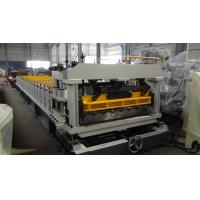 Mitsubishi PLC Metrocopo Roof Tile Roll Forming Machine With Two Year Guarantee