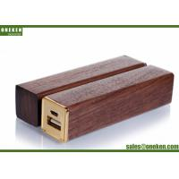 China Square Solid Stick Creative Power Bank , 2000mAh Portable Smartphone Charger wholesale