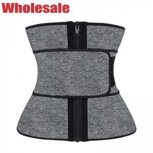 China Ladies Stomach Slim Belt 4XL Neoprene Waist Trainer Slimming Body Shaping Strap wholesale