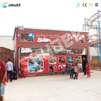 China Virtual Reality Kino 5D Cinema 5D Simulator With Spray air / Water wholesale