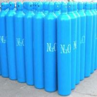 China N2O gas cylinder for medical use, with 15MPa/150bar working pressure wholesale