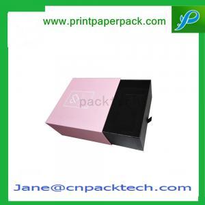 China OEM Case Box Lid hinged base with extend flapBox Bracelet Box Paper Gift Box on sale