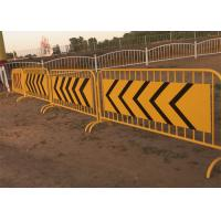 Buy cheap Used Exhibition Welded Pipe Metal Crowd Control Barrier from wholesalers