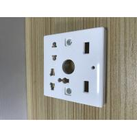 China High Accuracy Plastic Moulded Parts Electrical Plug Mold Convenient Use wholesale