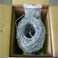 China barbed wire 1.6mm for Africa market (passed SGS inspection ) wholesale