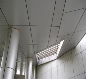 China Grey Exterior Building Wall Decorative Aluminum Sheet 2mm / 4mm wholesale