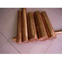 China Industrial Round Shaped Copper Products , Big Diameter Red Copper Bar wholesale