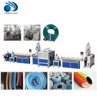 China Soft Flexible Plastic Pipe Making Machine For Garden Hose / PVC Water Pipe Machine wholesale