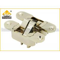 3 Way Adjustable Concealed Invisible Door Hinges , Hidden Closet Door Hinges