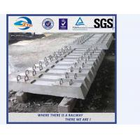 Wholesale factory sale concrete railway sleepers turnout switch concrete sleepers from china suppliers