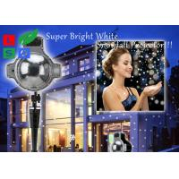 China 120 - 240V Outdoor LED Snowflake Projector For Winter Festival And Shop Promotion wholesale