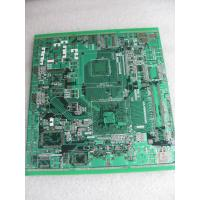 China OEM Rigid HASL Immersion Tin six 6 Layer PCB with 1.6mm board thickness / 0.3mm diameter wholesale