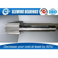 China High Precision Parts Spur Gear Shaft With Stainless Steel Material wholesale