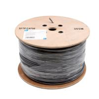 Pe Insulation Network Cat5e Sftp Cable 100 Copper Lan