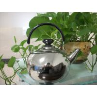 China 1 L, 1.5 L, 2 L Bakelite Handle SS 201 Stainless Steel Whistling Tea Kettle wholesale