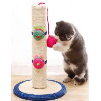 China Small Sisal Cat Indoor Climbing Frame Scratcher Column Frame Claw Point on sale