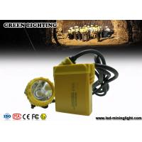 China IP68 25000 Lux Miners Headlamp is a new type of environmental-friendly Mining Cap Lights wholesale