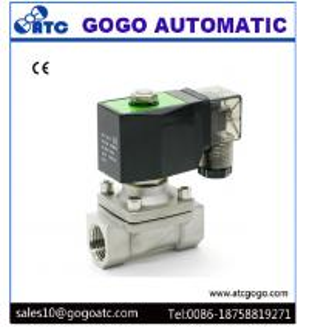 China 2 Way Direct Acting Solenoid Valve , 12V DC Solenoid Valve Zero Pressure Start Plug Type wholesale