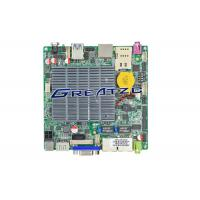 China Industrial Grade Quad Core CPU J1900 micro itx motherboard With 2 Nics , Fanless Design wholesale