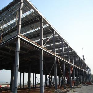 China Sandwich Panel Prefabricated Modular Small Warehouse Workshop For Sale wholesale