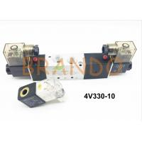 China Inner Pilot Type 5/3 Way Pneumatic Solenoid Valve 4V300 Series 4V330-10 wholesale