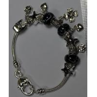 China Best friend anniversary gift, lucky beads bracelet , silver plated metal casting jewelry wholesale
