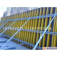 China Easy-to-assemble Wall Formwork Systems / Panels With Steel Walers and Wood Girder H20 wholesale