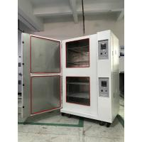 Stackable Climatic Test Chamber Glass Fiber Insulation Single Stage Compression Refrigeration