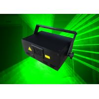 China Mini Green Laser Projector , 100MW Green Laser Show Lighting wholesale