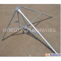 China Flexible Concrete Forming Accessories Folding Tripod Stabilizing Steel Props wholesale