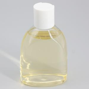 China 117mm 250ml PET Clear Plastic Skin Care Bottle With Screw Cap on sale