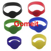 China Smart  Custom Rfid Tag Wristband , Rfid Enabled Wristbands High Temperature Endurable wholesale