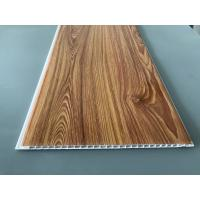 China Wood Transfer Printing 250mm Decorative PVC Panels Waterproof Ceiling wholesale