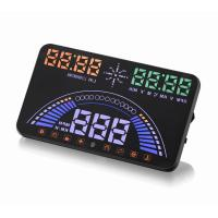 China Ouchuangbo  S7 HUD Head Up Display Combing OBD and GPS Two Systems Engine Fault Alarm Dynamic Speed Over Warning on sale
