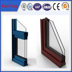 China China aluminium factory,powder coating aluminium sliding window/aluminum window profiles on sale