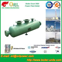 Buy cheap Water Heat Boiler Mud Drum / Boiler Drum Once Through For Power Station from wholesalers