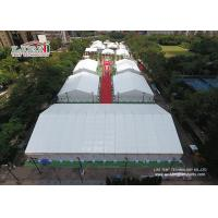 China 30m Width Aluminum Material Big Exhibition Tent For Outdoor Temporary Tradeshow wholesale